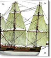 Three Masts Commercial 1760 Acrylic Print