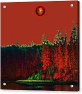 Three Moons Acrylic Print