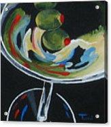 Three Olive Martini V  Acrylic Print