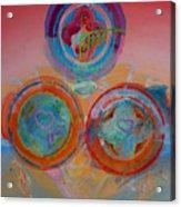 Three On Marine Acrylic Print