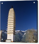Three Pagodas Acrylic Print