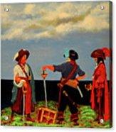 Three Pirates Acrylic Print