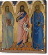 Three Saints Acrylic Print