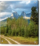 Three Sisters And A Dirt Road Acrylic Print