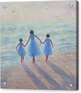 Three Sisters Beach Acrylic Print