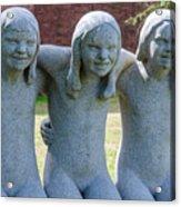 Three Sisters Acrylic Print