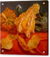 Three Squash Acrylic Print