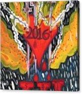 Three Swords Of 2016 Acrylic Print