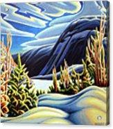 Three Valley Gap Acrylic Print