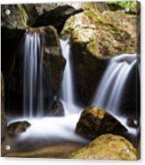 Three Waterfalls Acrylic Print