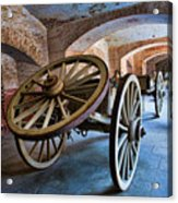 Three Wheeled Wagon Acrylic Print