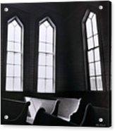 Three Window Church Acrylic Print