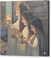 Three Wise Virgins Acrylic Print