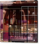 Through A Window Acrylic Print