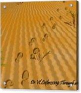 Through Desert Acrylic Print