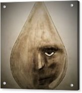 Through Every Tear, Determination Acrylic Print