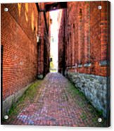 Through Marietta Ohio Acrylic Print