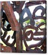 Through The Alphabet Acrylic Print