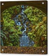 Through The Arch Signed Acrylic Print