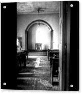 Through The Doorway Acrylic Print