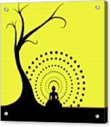 Through The Eye Of Buddhism Acrylic Print