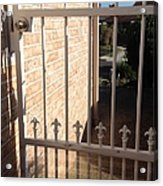 Through The Gate Acrylic Print