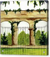 Through The Gates Acrylic Print