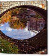 Through The Looking Glass Acrylic Print by Joann Vitali