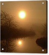 Through The Murky Mist Acrylic Print