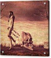 Through The Valley  Acrylic Print by Bob Orsillo