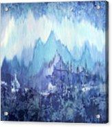Through To Stillness Acrylic Print