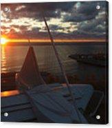 Sunrise @ Lake Acrylic Print