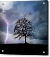 Thunder And Lightning Acrylic Print