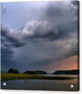 Thunder At Siuro Acrylic Print