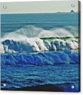 Thunder Of The Waves Acrylic Print