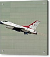 Thunderbird 6 In Afterburner Acrylic Print