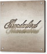 Thunderbird Badge Acrylic Print