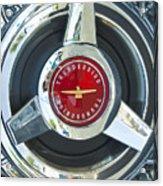 Thunderbird Rim Emblem Acrylic Print