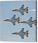 Thunderbirds 1-4 Turning 2627 Acrylic Print