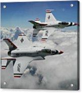 Thunderbirds Of The Future Acrylic Print