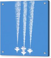 Thunderbirds Of The Usaf Acrylic Print