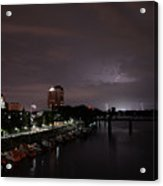 Thunderbolt And Lighning  Acrylic Print
