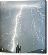 Thunderbolts From  The Heavens Above Acrylic Print