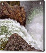 Thundering Waters Acrylic Print