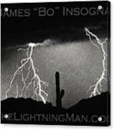 Thunderstorm Poster Print Acrylic Print