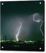 Thunderstorm View From North Scottsdale Arizona Acrylic Print
