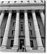 Thurgood Marshall United States Courthouse, Lower Manhattan New  Acrylic Print