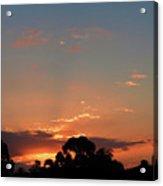 Thursday Sunset Acrylic Print
