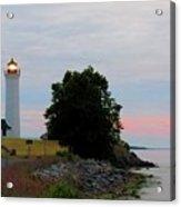 Tibbetts Point Light Sunset Acrylic Print
