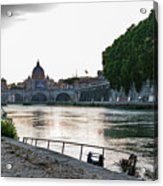 Tiber Walk Acrylic Print